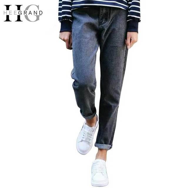ba0c73fbbd83d HEE GRAND Jeans pour Femmes Jeans Avec Taille Haute Jeans Femmes plus la  Taille Fermeture Éclair