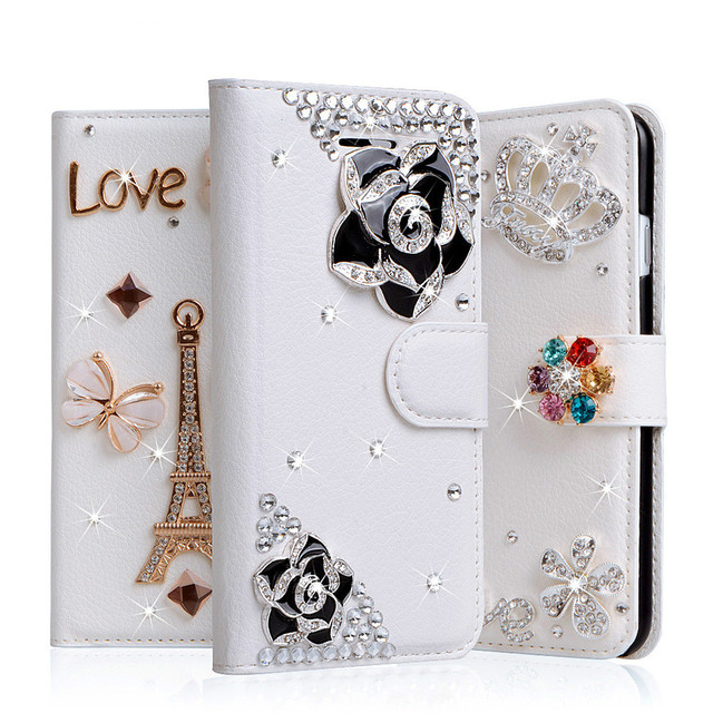 san francisco 95ffb aaad6 US $9.06 45% OFF|UTOPER For Oneplus 5T Case Flip Luxury Diamond Phone Case  For 5T Oneplus 5 5T Cover For Oneplus 5 Coque Shell Capas Rhinestone-in ...
