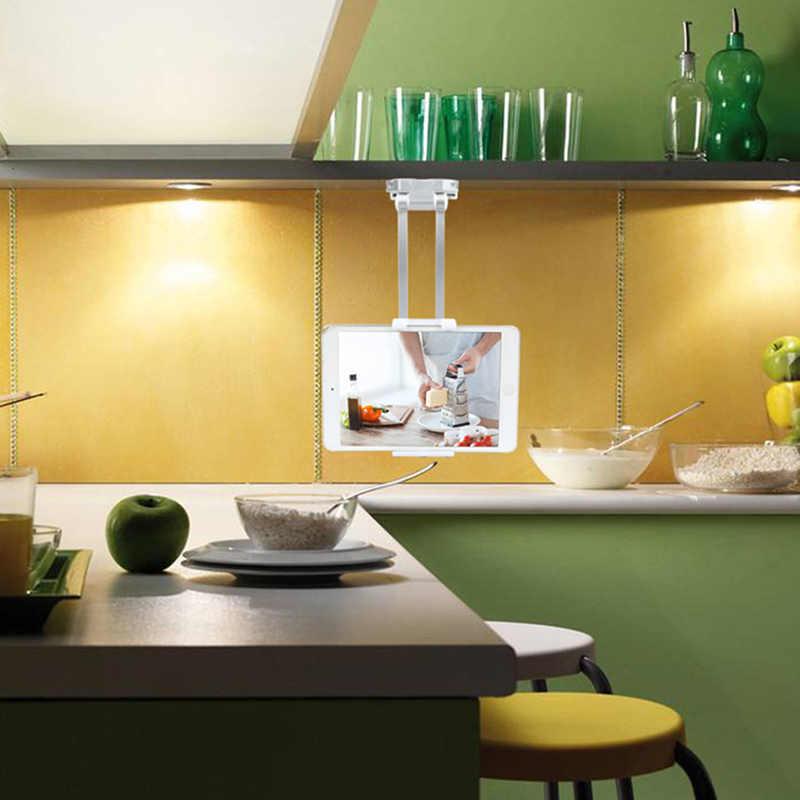 المطبخ مثبت طاولات حامل لسطح المكتب وصفة حامل قوس قابل للتعديل الذراع ل 5-10.5 بوصة اللوحي JR صفقات