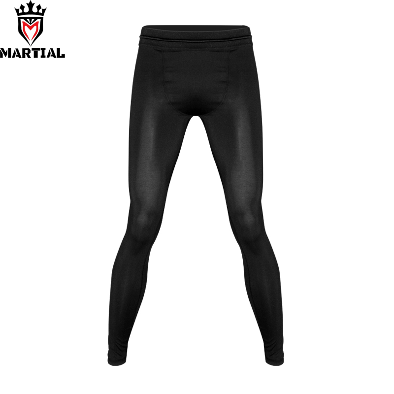 Martial:blank Martial Arts Pants Fitness Clothing Sport Pants Men Black Bjj Leggings
