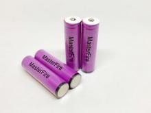 цена на MasterFire 8pcs/lot Protected Original Sanyo 3.7V 3000mAh 18650 Rechargeable Battery Cells UR18650ZTA Lithium Batteries with PCB