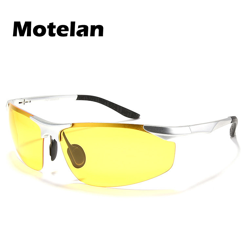Men/'s Sport Polarized Sunglasses Outdoor Driving Night Vision Riding Glasses
