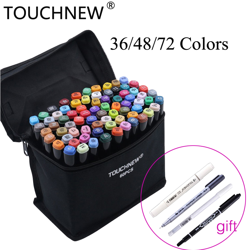 TouchNEW 72 Colors Alcohol Based Markers Set Dual Tip Sketch Marker Drawing Pen Coloring Manga Colori Twinmarker Art supplies an incremental graft parsing based program development environment