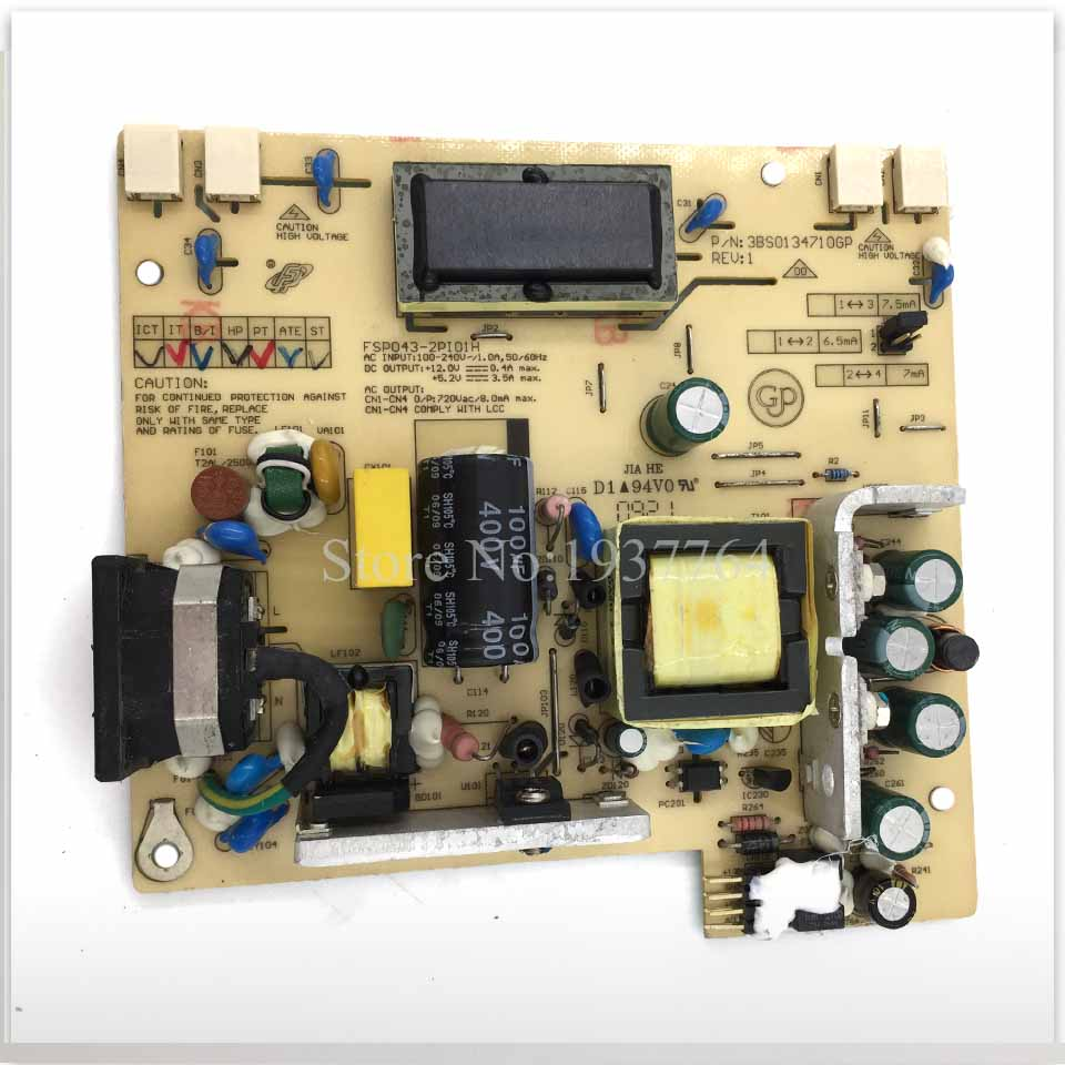 Good Working Power Supply Board For ACER AL1706  AL1716  X191W FSP043-2PI01 High Pressure Plate Used