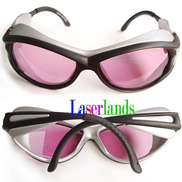 ФОТО Laser Protection Goggles/Glasses for 808nm 810nm IR Infrared Lazer