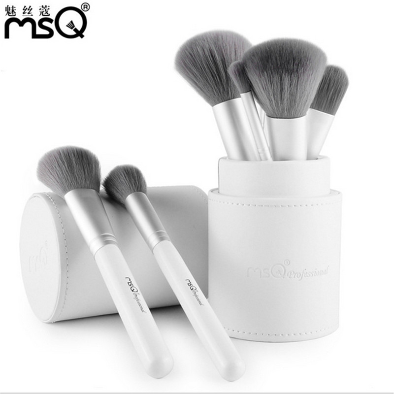 MSQ 12pcs Makeup Brushes Set Powder Foundation Eyeshadow Make Up Brushes Cosmetics Bamboo charcoal Soft Synthetic Hair