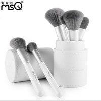 MSQ 12pcs Makeup Brushes Set Powder Foundation Eyeshadow Make Up Brushes Cosmetics Bamboo Charcoal Soft Synthetic