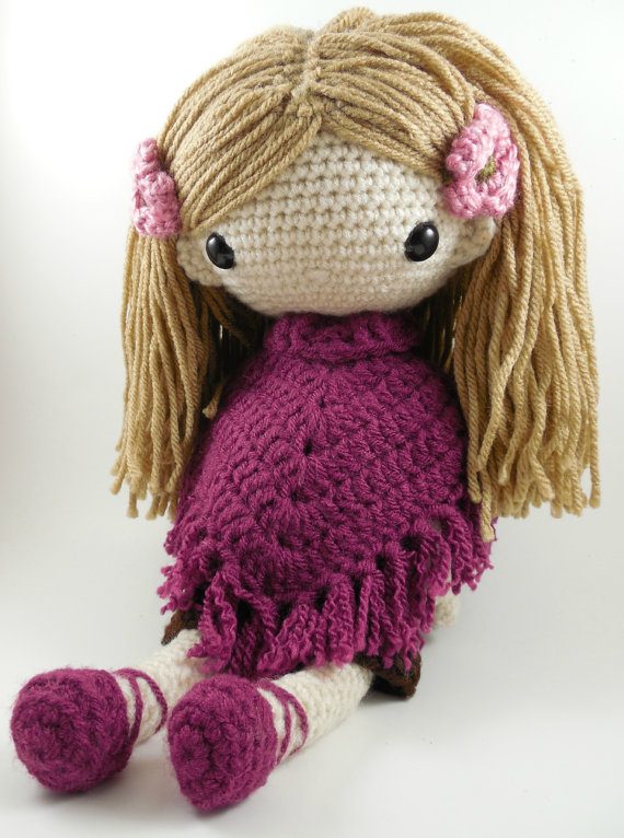 Big Amigurumi Doll Pattern : Popular Crochet Doll-Buy Cheap Crochet Doll lots from ...