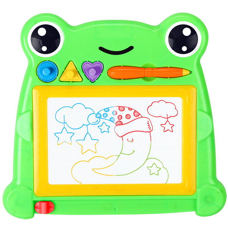 1pcs 26.5x24cm Plastic Children Magnetic Drawing Board For Kids Writing Doodle Sketch Pad Toy Learning Education Toys Gift