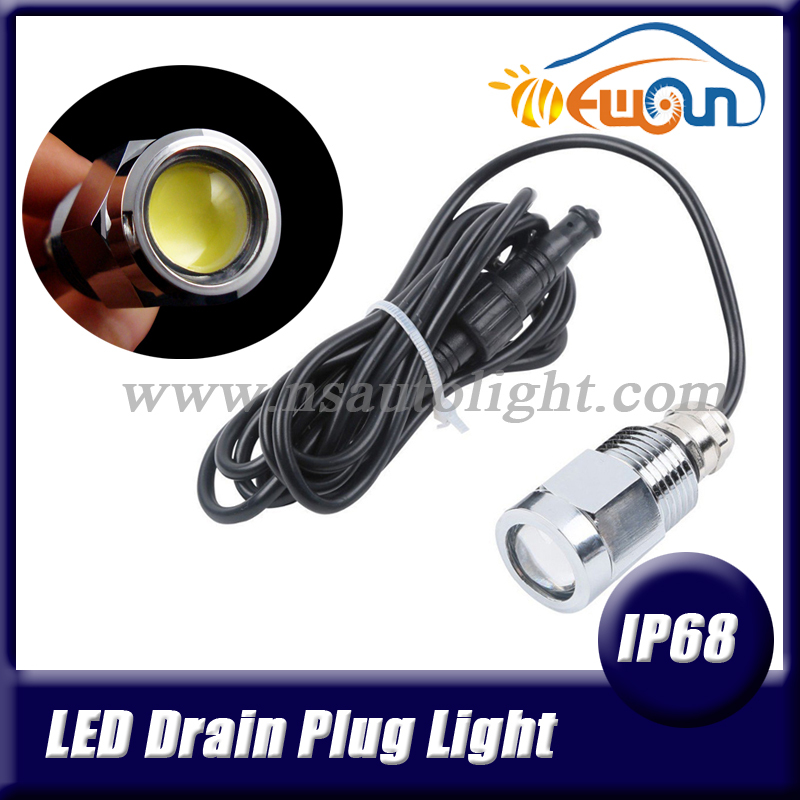 High Quality Best Service White 9W LED Boat Drain Plug Light 9W LED Yacht And Boat Light 750LM Underwater Light for Yacht