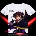 Code Geass T-shirt de Anime manga corta T camisa camiseta transpirable moda hombre mujer Top Tees