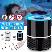 Professional USB Electric Mosquito Killer Lamp LED Bug Insect Trap Mouse Fly Light Lamp Killing Pest Zapper Repeller 110V/220V|Repellents| |  -