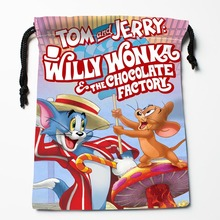 New Custom tom & jerry Bags Custom drawstring Bags Printed gift bags 27x35cm Compression Type Bags