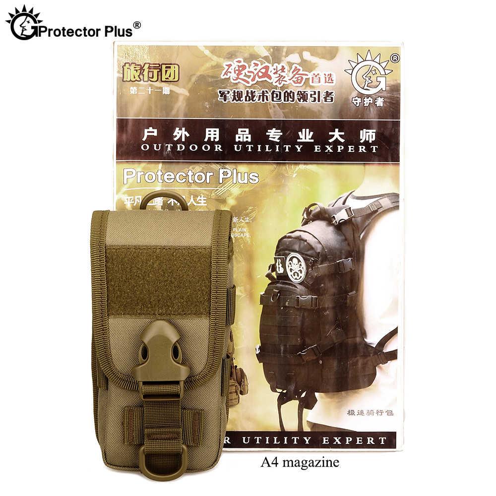 Tấm Bảo Vệ Plus Chiến Thuật Dụng Cụ Tiểu Gói Mặc Đai Eo 5.8-Inch Full-Bao Da Điện Thoại Ốp Lưng ngoài Trời Nhỏ Túi Đeo Chéo