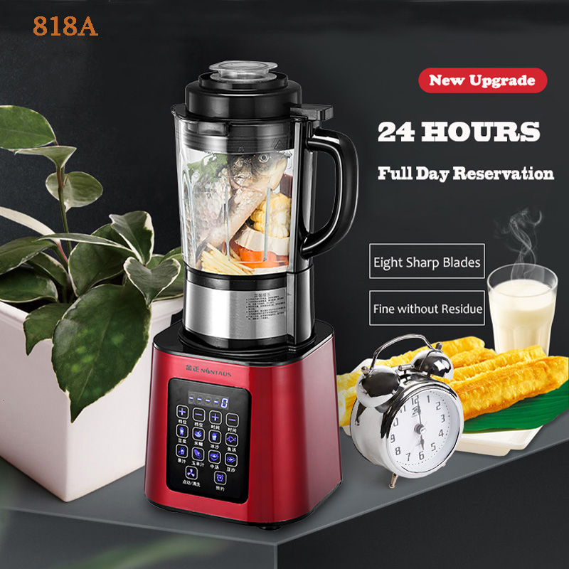все цены на 818A Automatic heating Food Processor multi-function milk mixed milk baby Blender онлайн