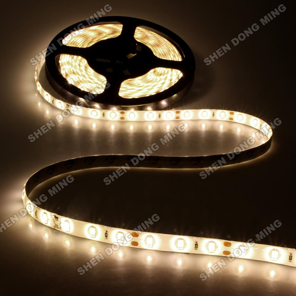 Led Strip Waterproof Us 10 17 5 Off White Cold White Warm White Waterproof Led Strip 5630 Smd Water Proof Ip65 Led Ribbon Dc12v 60leds M 14 4w M Flexible Led Light In