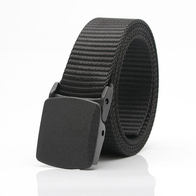 New Waist Tactics Adjustable Outdoor Belt Military Nylon Belt Men's Military Belt Automatic Buckle