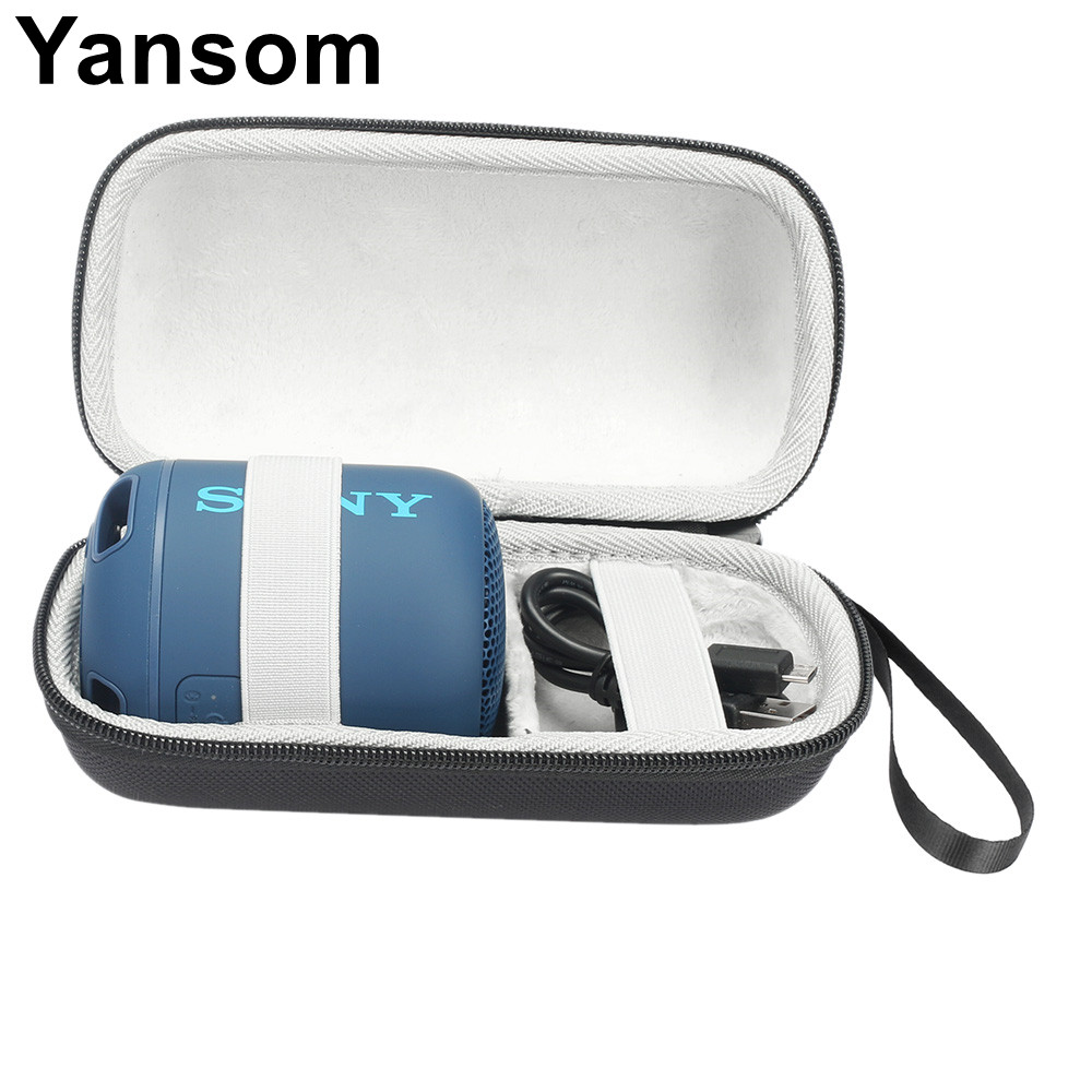 Hard Travel Case For Sony SRS-XB12 XB10 Portable Wireless Bluetooth Speaker & Charger Pouch Storage Handbag Protective Bag Box