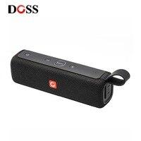 ДОСС E-go ll открытый Bluetooth Динамик Портативный Беспроводной Динамик s IPX6 Водонепроницаемый Sound Box с микрофоном AUX TF для телефона ПК