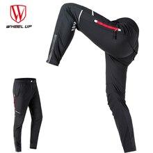WHEEL UP Spring Autumn Men Cycling Pants Long Sports Pants Multifunction Sportswear Bike Reflective Long Trousers Cycling Cloth