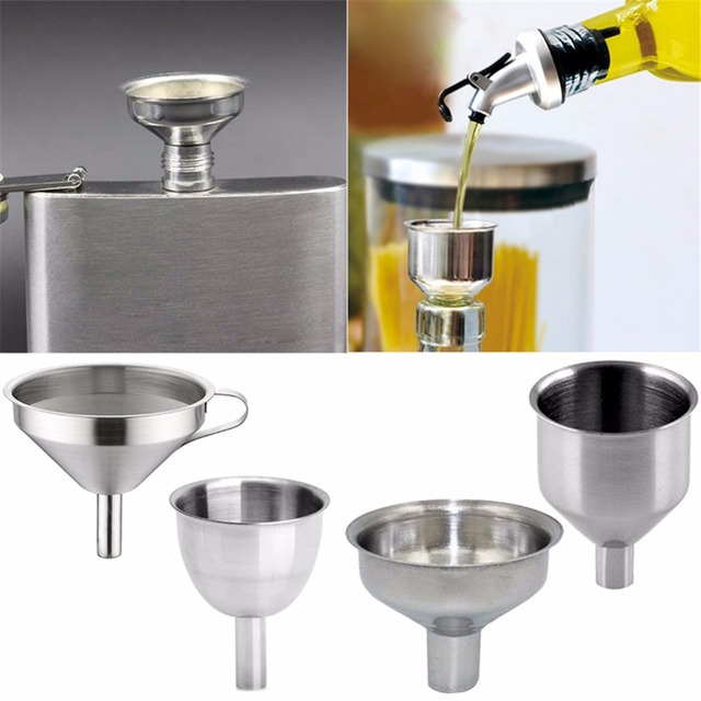 Aliexpress.com: Comprar 4 patrones de acero inoxidable embudo de ...
