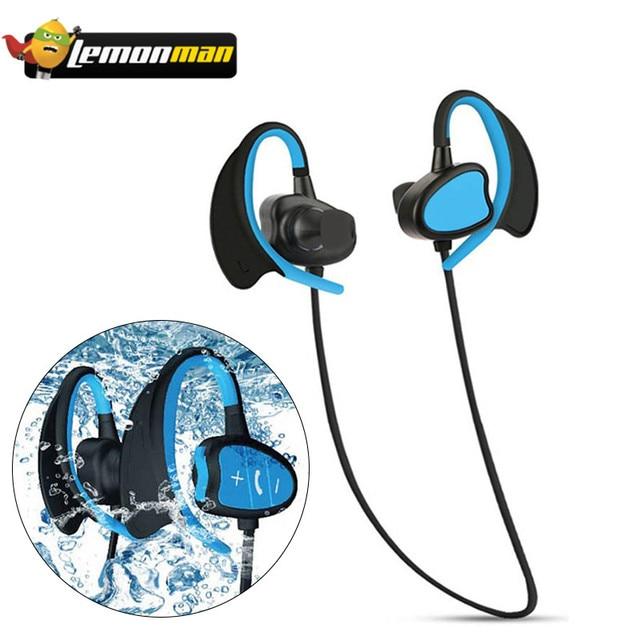 6f57996f20a LemonMan BH802 Diving Waterproof Swimming Earphones IPX8 Underwater Surf  Sports Music Mini HIFI Stereo Bass Earphone Headset