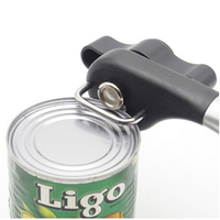 Multi Function Safety Stainless Steel Tin Manual Can Opener Kitchen Craft Easy Beer Grip Bottle Opener