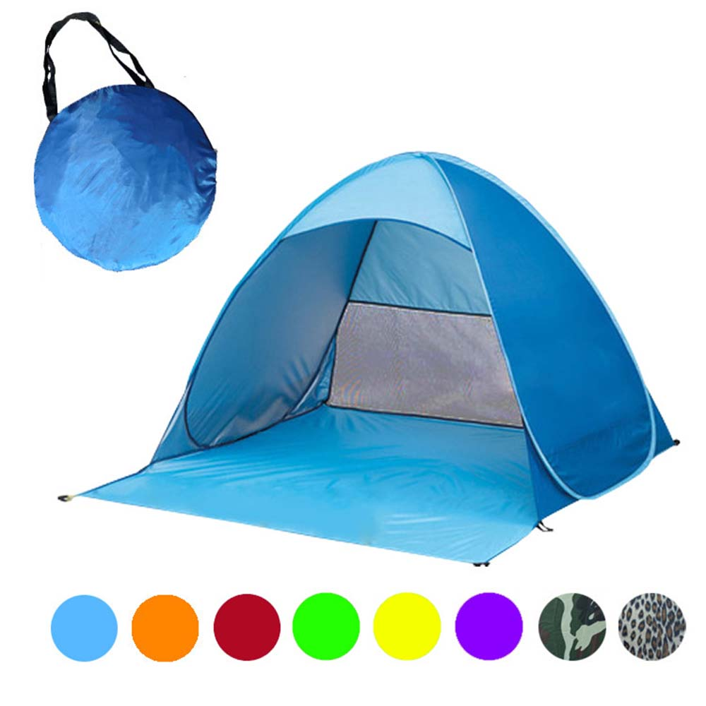 Automatic quickly erected C&ing Tent Pop Up Portable Beach Canopy Sun Shade Shelter Outdoor Fishing Tent 190 150*165*100CM-in Tents from Sports ...  sc 1 st  AliExpress.com & Automatic quickly erected Camping Tent Pop Up Portable Beach ...