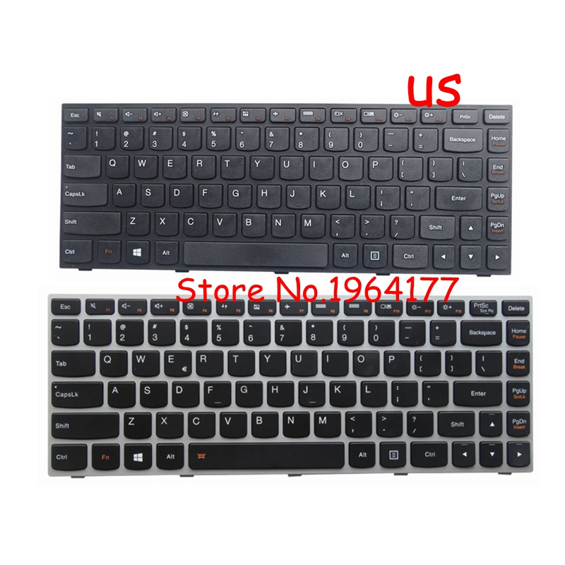 US Layout Keyboard For Lenovo IdeaPad Z50-70AP-IFI D Z50-70AP-ITH Series Laptop