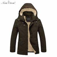 2017 Winter Militaire Jas Winter Herfst Lente Jacket Army Black Bomber Jassen Hooded Effen Kleur Veste Homme Plus Size 4XL