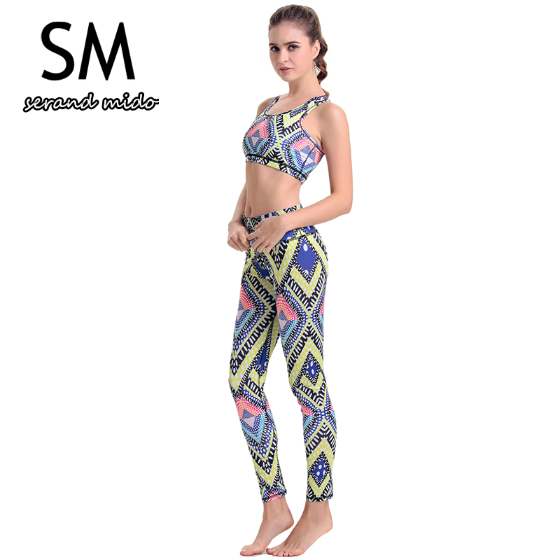 New Design Women Yoga Sets Fitness Clothing Knitted Top Pant Calistthenics Workout Clothes For