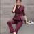 Elegantes Trajes de Pantalón para las Mujeres 2017 de Las Mujeres Trajes de Negocios Oficina Formal Trajes Chaqueta de Trabajo con Señoras Pantalones Set 022807