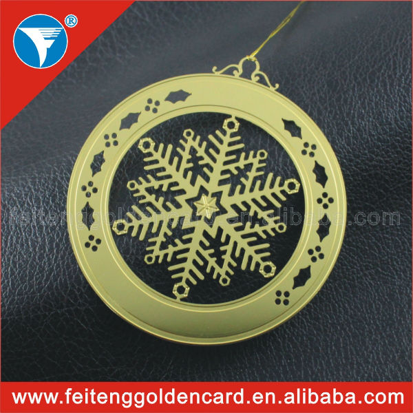 Flat metal ornaments images personalized