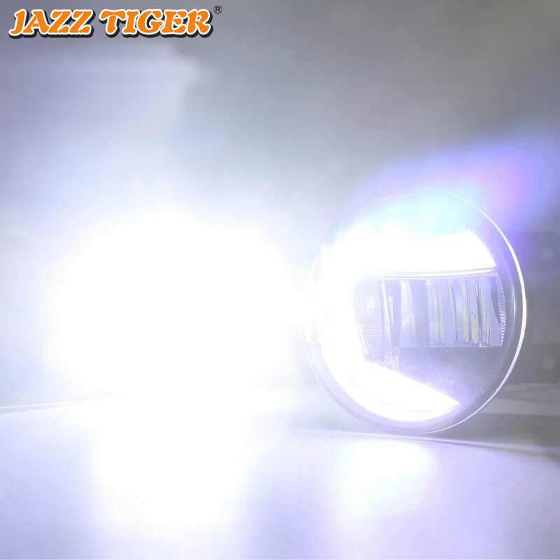 Proyector de luz LED de conducción diurna para coche con funciones 2 en 1 para Toyota Corolla Camry Highlander RAV4 Fortuner Prius