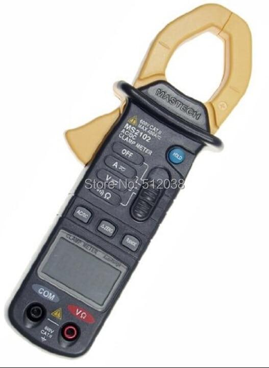 MS2102 400A Автоматический диапазон AC/DC мини клещи мультиметр