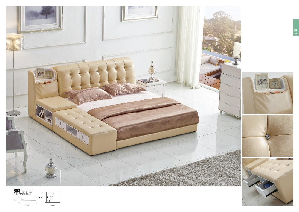 Storage Faux Leather Bed With Gas Lift Ottoman Bed - Online Get Cheap Ottoman Storage Beds -Aliexpress.com Alibaba Group