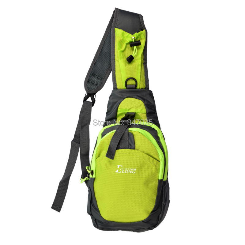 1X Chest Bag for Ourdoor Archery Arrow Quiver Back Bag Green color - Free shipping