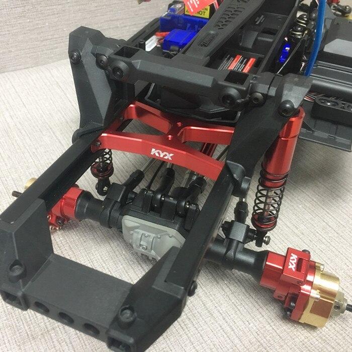Alloy CNC Main beam Rear bracket for 1 10 Traxxas TRX 4 TRX 4 TRX4 crawler