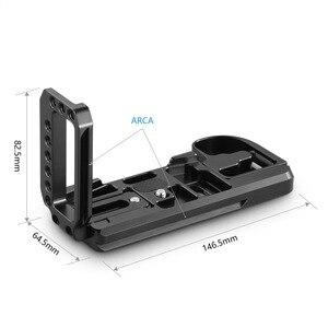 Image 3 - SmallRig G9 L סוגר עבור Panasonic Lumix G9 מצלמה L צלחת שחרור מהיר חצובה Monopods לצרף 2191