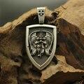 1pcs men necklace Archangel St.Michael Protect Me Saint Shield Protection pendant jewelry