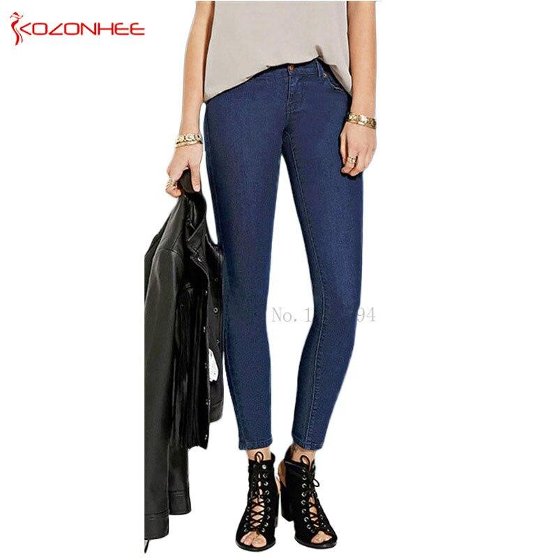 ca1582ed Profonde-Bleu-Stretch-Taille-Haute-jeans-Femme-Maigre-Crayon-Jeans-pantalon-Pour-Les-Femmes-Pantalon-Grande.jpg