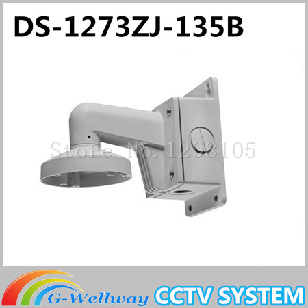 цена на DS-1273ZJ-135B Outdoor Indoor Wall Mount Aluminum Bracket For Dome Network IP Camera DS-2CD2732F-IS