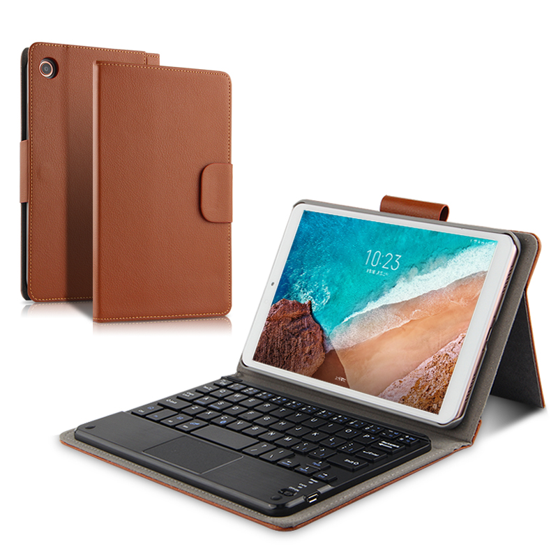 Case For Xiaomi Mi Pad 4 MiPad4 Wireless Bluetooth keyboard Protective Cover PU Leather mi pad4 Mipad 4 Tablet 8