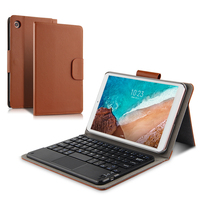 Case For Xiaomi Mi Pad 4 MiPad4 Wireless Bluetooth keyboard Protective Cover PU Leather mi pad4 Mipad 4 Tablet 8Protector cases