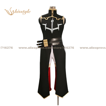 Kisstyle Fashion Code Geass: Lelouch of the Rebellion C.C. Black Uniform COS Clothing Cosplay Costume,Customized Accepted