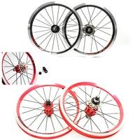 Original litepro 14inch bike small wheel bicycle outside shift wheelset 9/13/17t 11/13/15t Refit 412/410