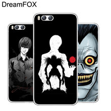 DREAMFOX M091 Death Note Anime suave TPU funda de silicona para Xiaomi mi Note 2 3 4 5 6 8 SE M5 4C 4S 5C 5S 5X 6X A1 Plus(China)