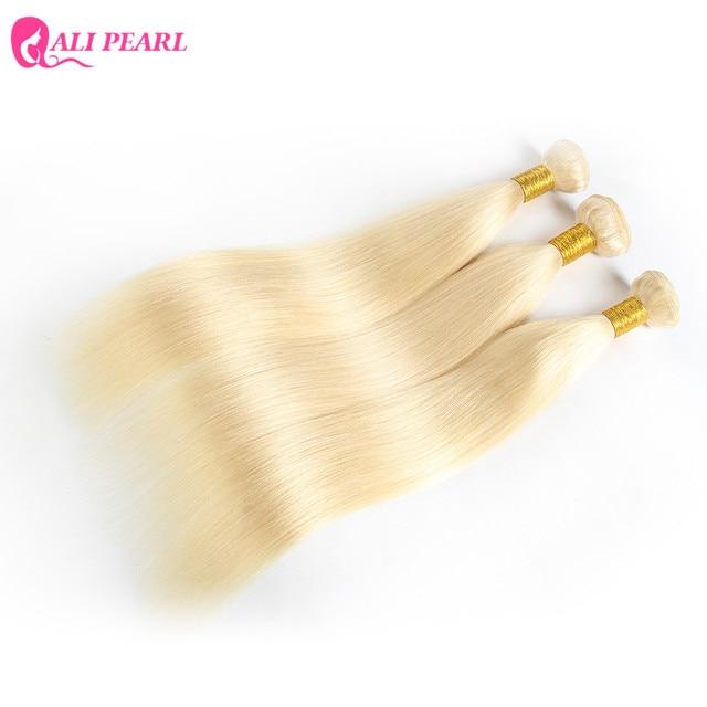 Ali Pearl Hair 1 bundle sale Bleached 613 Blonde Hair Bundles 10-24 Inches Remy Hair 1