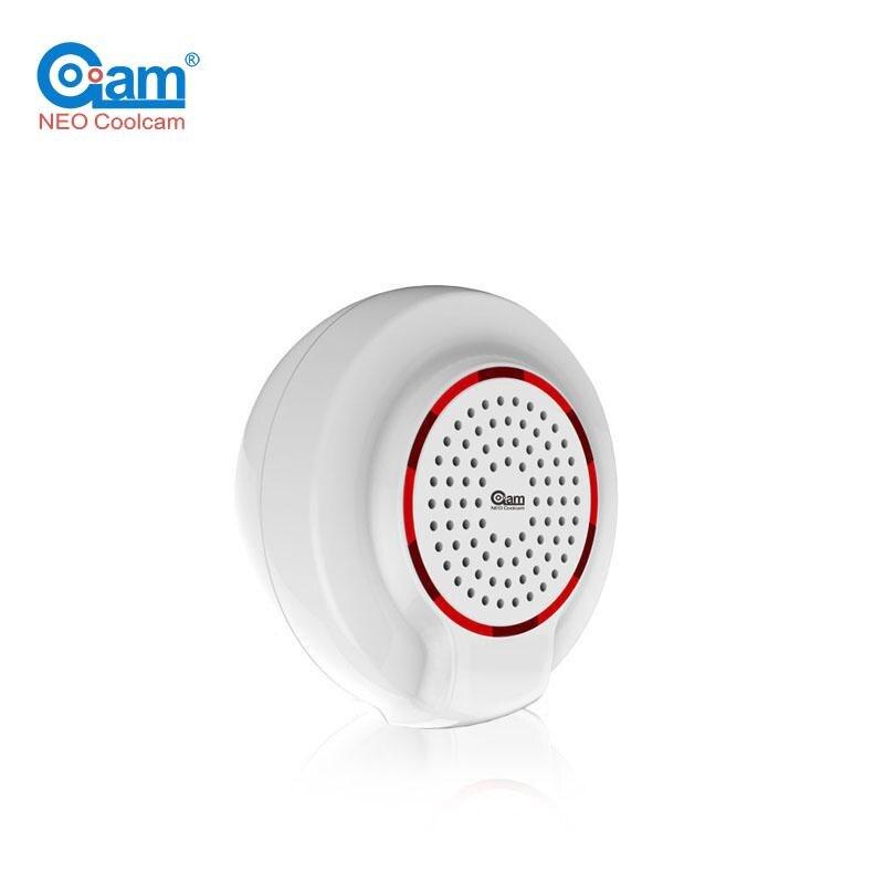 NEO Coolcam NAS-AB01ZE Z-vague Plus Sirène D'alarme Capteur Z vague Domotique Alarme L'UE Version 868.4 MHz
