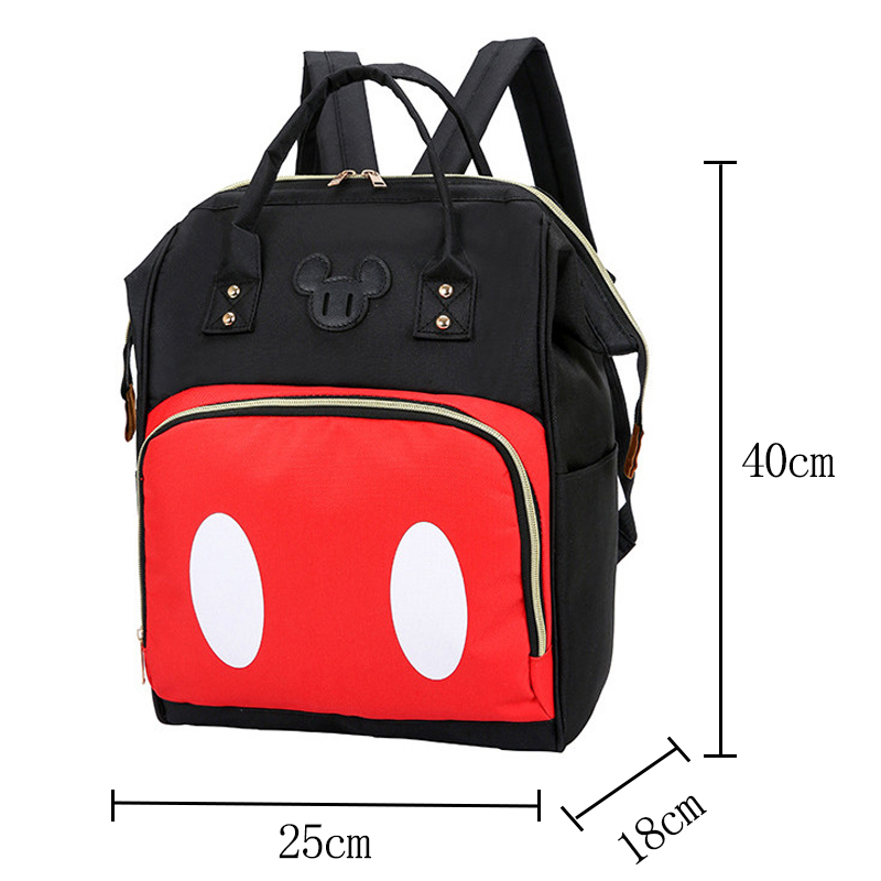 Disney 2019 New Waterproof Diaper Bags Large Capacity Travel Backpack Mom  Maternity Nappy Bag Storage Hanging Mummy Bags Gift